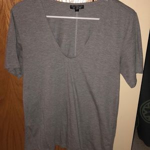 Gray short sleeve from Topshop